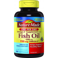Dầu cá Nature Made Fish Oil Omega 3 1200mg 100 viên