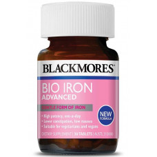 Blackmores Bio Iron Advanced 30 viên