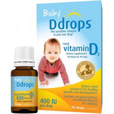 Ddrops Baby Liquid Vitamin D3 2.5ml