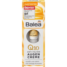 Dưỡng mắt Balea Q10 Anti-Falten Augencreme 15ml