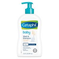 Sữa tắm gội 2in1 Cetaphil Baby Baby Wash & Shampoo 399ml
