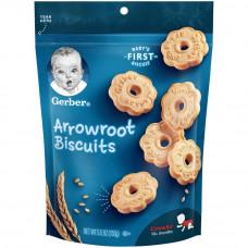 Bánh quy ăn dặm Gerber Arrowroot Biscuits 155gr