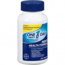Vitamin cho nam dưới 50 One A Day Men's Health Formula 200 viên